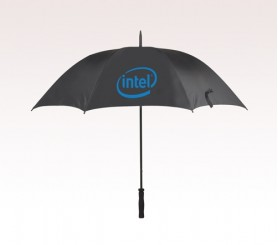 Customized 60 inch Arc Black Umbrella