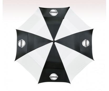 Customized 62 inch Arc Black Umbrella