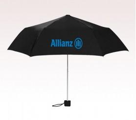 Personalized 39 inch Arc Black Umbrella