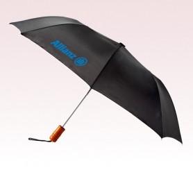 Personalized 43 inch Auto Black Umbrella