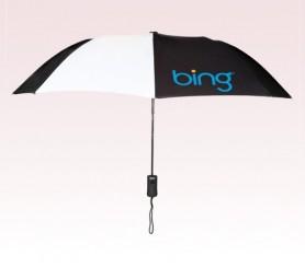 Personalized 43 inch Wind Black Umbrella