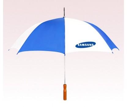 Customized 48 inch Auto Blue Umbrella