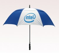 Customized 58 inch Arc Blue Umbrella