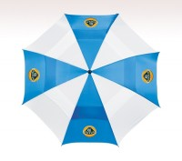 Customized 62 inch Arc Blue Umbrella