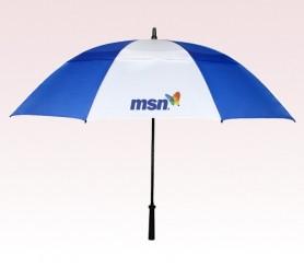 Personalized 62 inch Arc Blue Umbrella