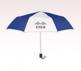 Promotional 42 inch Arc Blue Umbrella