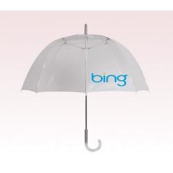 Customized 48 inch Arc Clear Umbrella
