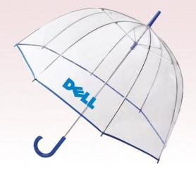 Customized 52 inch Bubble Clear Umbrella