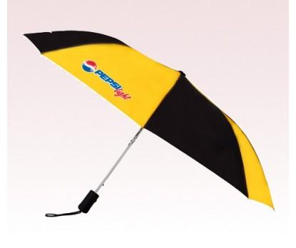 Customized 43 inch Wind Gold Umbrella