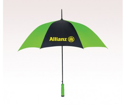 Customized 46 inch Arc Green Umbrella