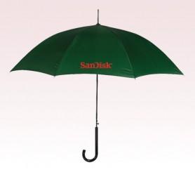 Customized 46 inch Auto Green Umbrella