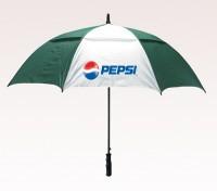 Customized 58 inch Arc Green Umbrella