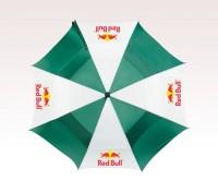 Customized 62 inch Arc Green Umbrella