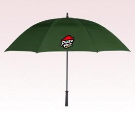 Personalized 62 inch Arc Green Umbrella