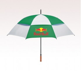 Personalized  68 inch Vented Green Umbrella