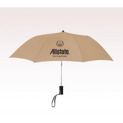 Customized 36 inch Arc Khaki Umbrella