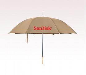 Customized 48 inch Arc Khaki Umbrella