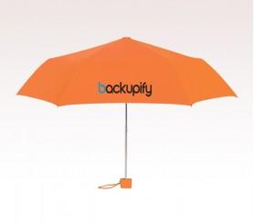 Customized 39 inch Arc Orange Umbrella