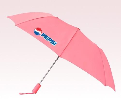 Customized 43 inch Wind Pink Umbrella