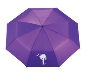 Customized 41 inch Arc Purple Umbrella