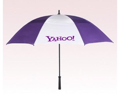 Customized 62 inch Arc Purple Umbrella