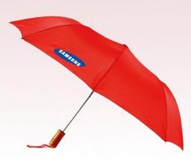 Customized 43 inch Auto Red Umbrella