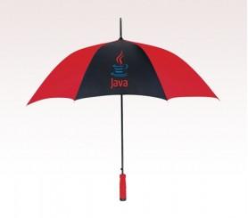 Customized 46 inch Arc Red Umbrella