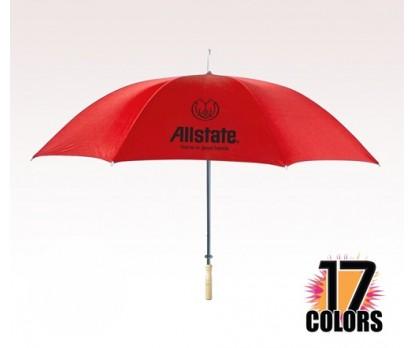 Customized 48 inch Arc Red Umbrella