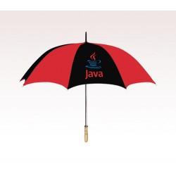 Customized 60  inch Arc Red Umbrella