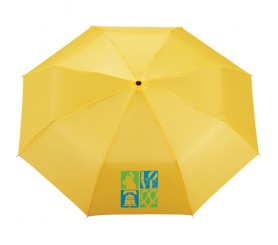 Customized 41 inch Arc Yellow Umbrella