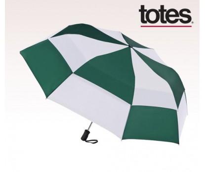 Personalized Four Seasons 55 inch Arc Totes ® Stormbeate™ Auto Open Folding Umbrella