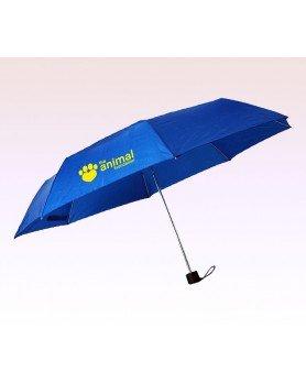 43 Inch Arc Customized Manual Folding Umbrellas w/ 16 Colors