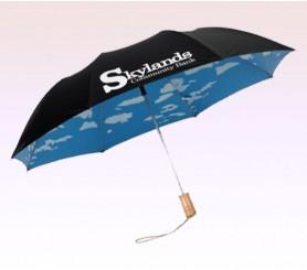 43 Inch Arc Custom Auto Open Folding Umbrellas