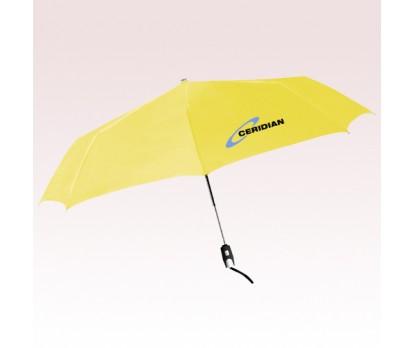 43 Inch Arc Personalized Manhattan Auto Open and Close Umbrellas