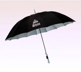 56 Inch Arc Logo Imprinted 16 Panel Umbrellas