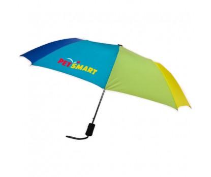 43 inch Wind Custom Logo Imprinted Umbrellas w/ 44 Colors