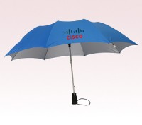 43 inch Auto Open Personalized Logo Umbrella w/ 5 Colors