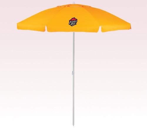 86 inch Arc Customized Beach Umbrellas w/ 7 Colors