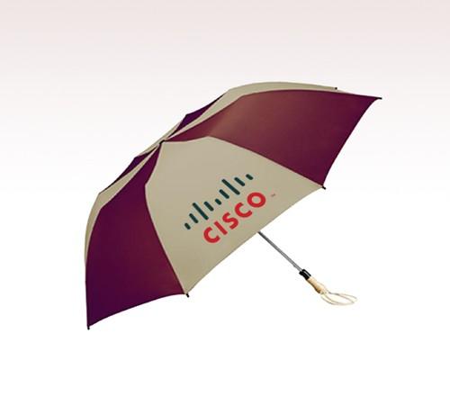 58 inch Auto Open Folding Custom Logo Full Color Umbrellas w/ 19 Colors