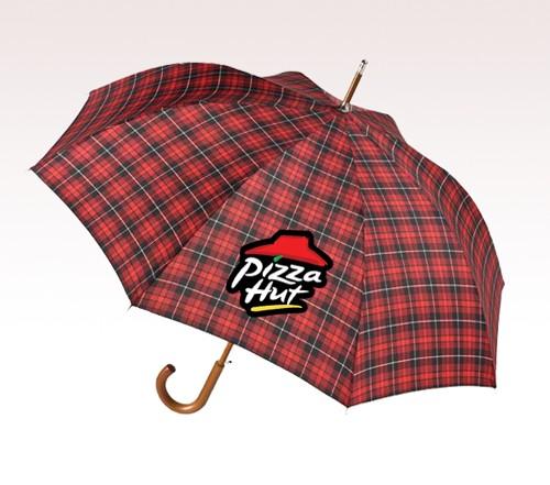 48'' Arc Stick Customized Logo Full Color Umbrellas
