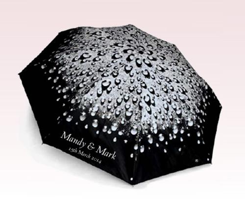 Promotional 42 Auto OpenRaindropsFolding Umbrella