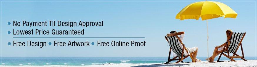 Custom Promotional Beach Umbrellas