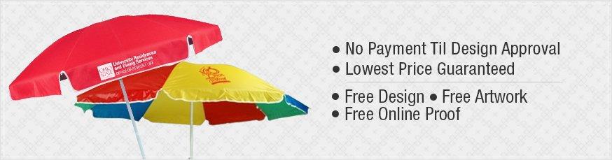 Custom Promotional Patio Umbrellas