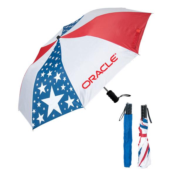 5 Reasons Why You Should Use Custom 42 Inch arc logo Folding Umbrellas for Branding